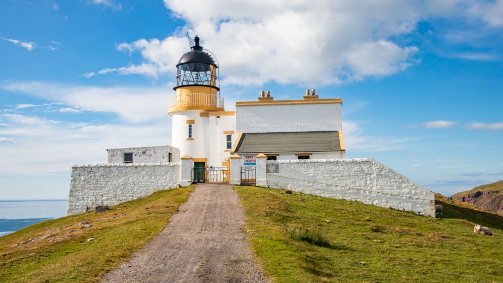 Stoer Lighthouse in Scotland