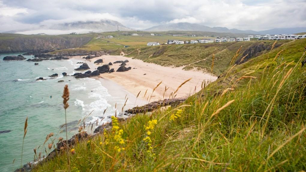 Sango Bay Beach on the North Coast 500 in Scotland