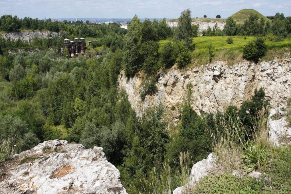 Krakus Mound Qurry in Kraków, Poland Schindler's List Locations