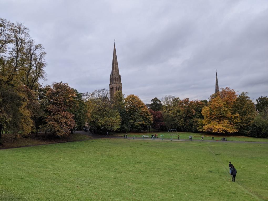 Queen's Park in Glasgow, Scotland