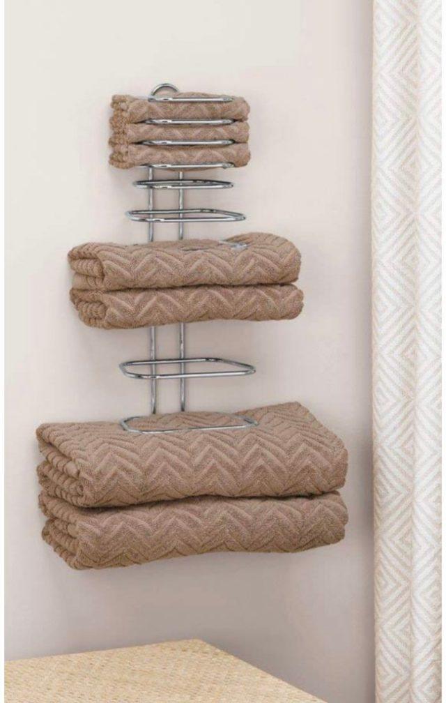 Hotel-style towel racks  YouRemodel
