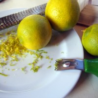 Easy Lime Syrup Cake