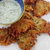 Zucchini Bhaji, Gluten-Free Vegan Snacks.