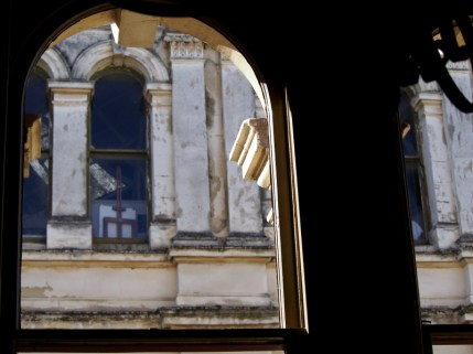 View from the window of the Criterion, Oamaru
