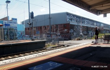 The Upfield line, graffiti land.