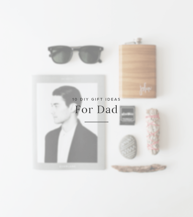 10 DIY gift ideas for dad | almost makes perfect
