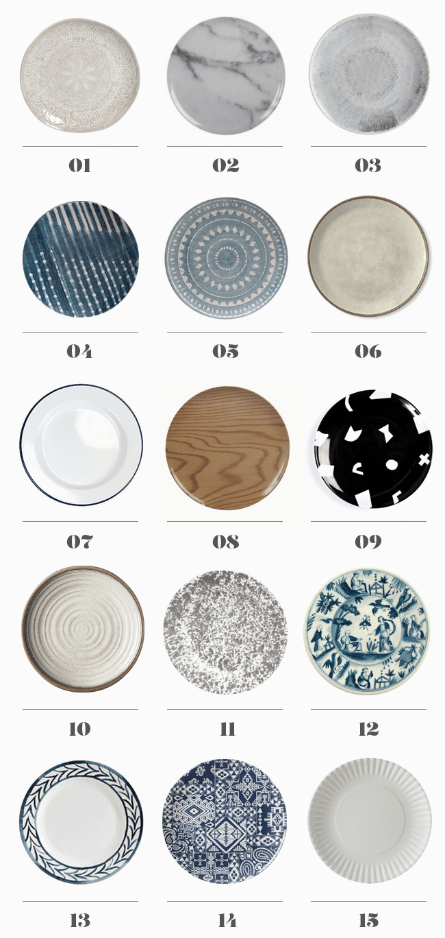 15 modern melamine plates | almost makes perfect