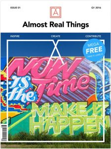 Almost Real Things Issue 01 Cover