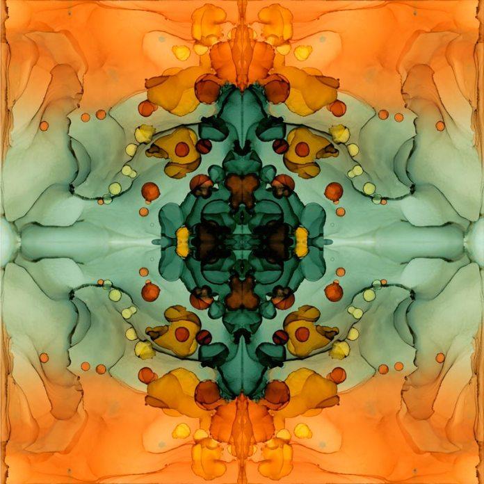 Kaleidoscope 5 by Julie Peleaz, Fine Artist