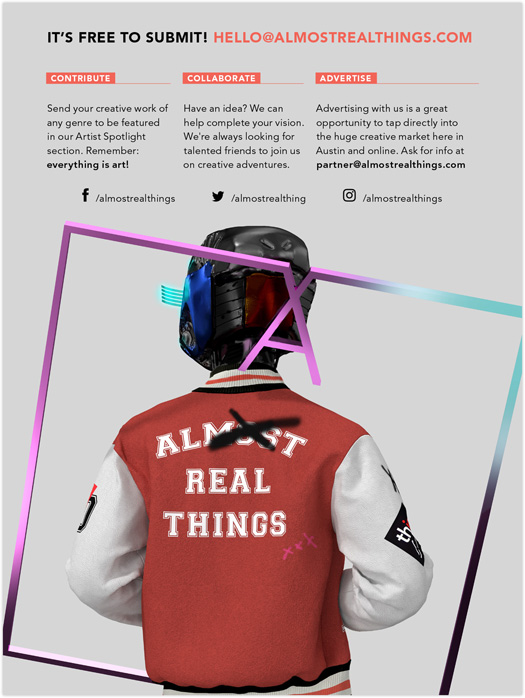 Almost Real Things Issue 10 Cover Back