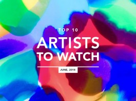 Top 10 Artists To Watch June 2018 Banner