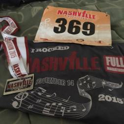 First Full Marathon - Nashville