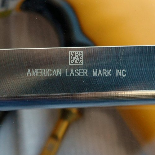 Laser Etched, Metal, Stainless Steel