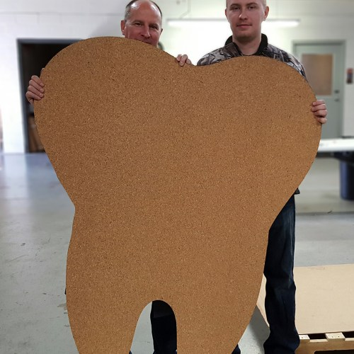 Laser Cutting, Large Format, Cork