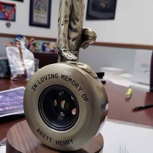 Laser Engraved, Trophy