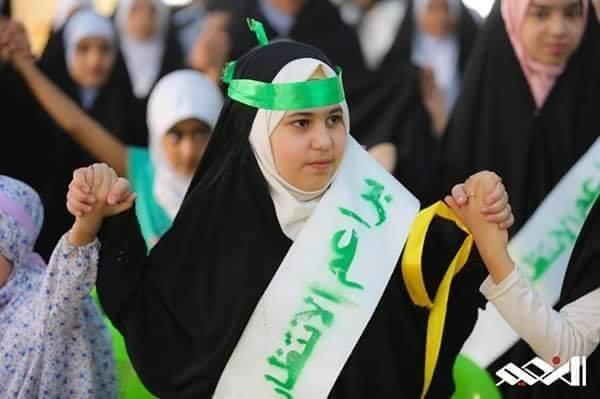 تخرج (180) طالبة من طالبات الدورات الصيفية التي أقامها مجمع المبلغات الرساليات لفرع الكاظمية
