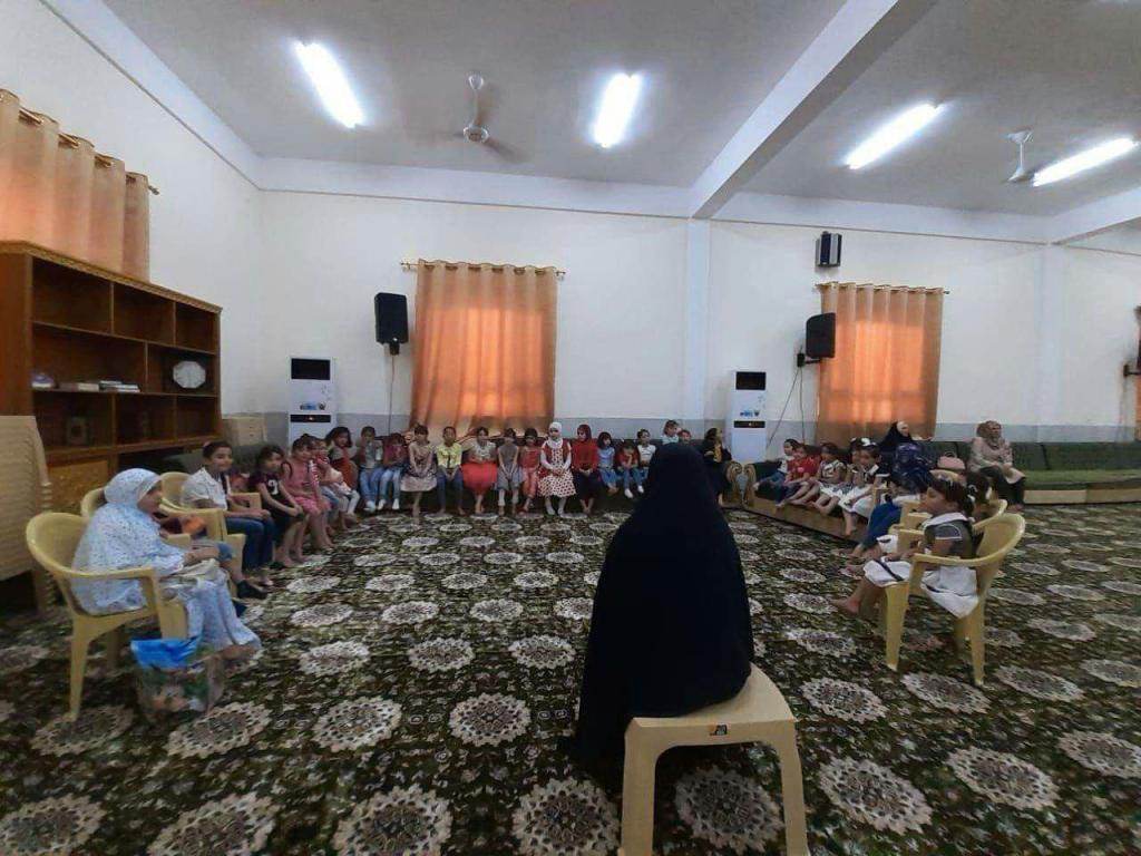 الدورات الصيفية في محافظة ذي قار / سوق الشيوخ
