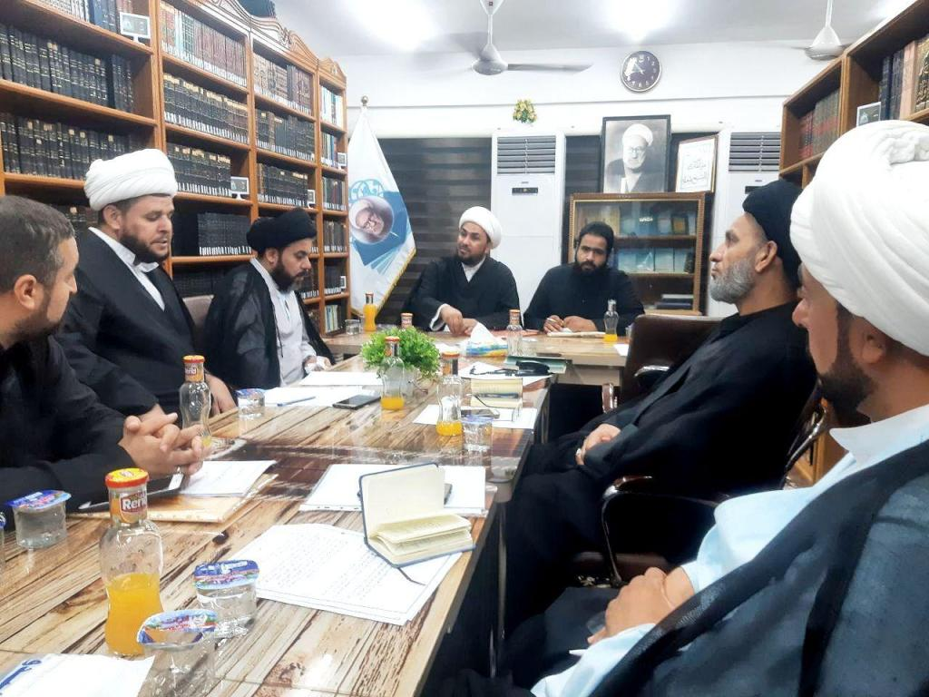 اللجنة المركزية المشرفة على فروع مجمع المبلغات الرساليات تطلق خطتها التبليغية لزيارة اربعين الامام الحسين (ع)