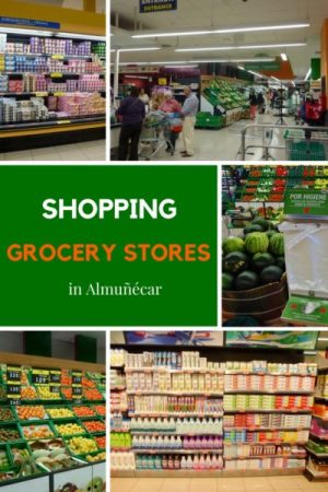 Grocery Stores in Almuñécar