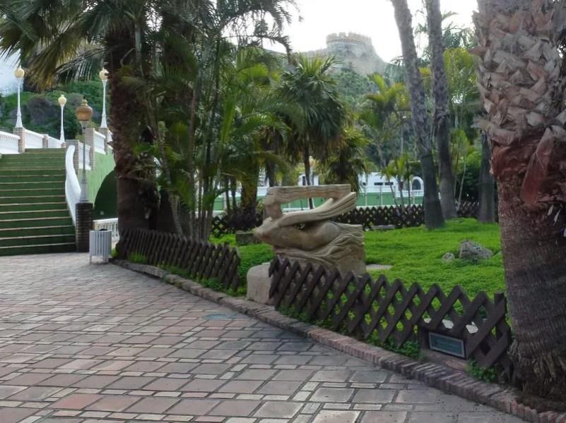Almuñécar El Majuelo Park and Botanical Garden, plus roman ruins