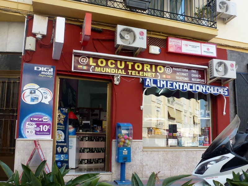 Locutorio - Internet, Phones