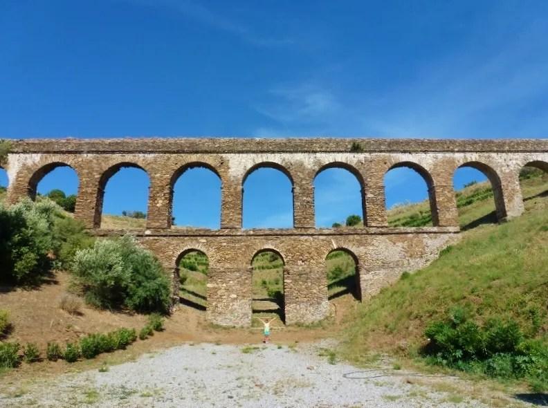 Things To Do In Almuñécar Roman Aqueduct Rio Seco Near Santa Cruz Resort