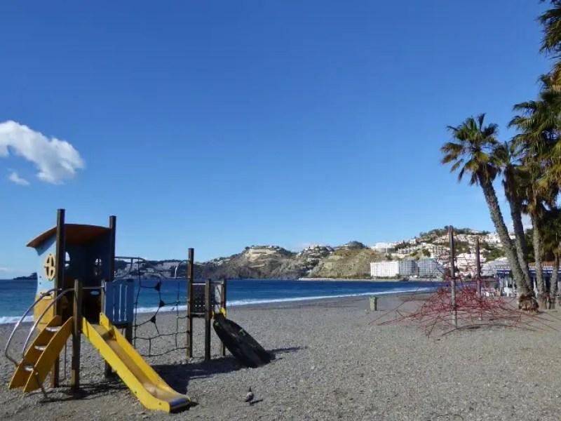 Almuñécar Playgrounds and Parks - San Cristobal Beach
