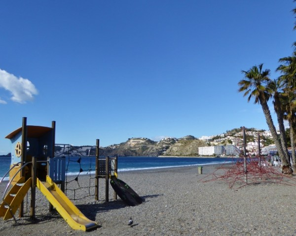 Almuñécar Playgrounds and Parks - San Cristobal Beach