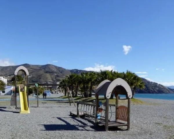 Almuñécar Playgrounds and Parks - Velilla Beach