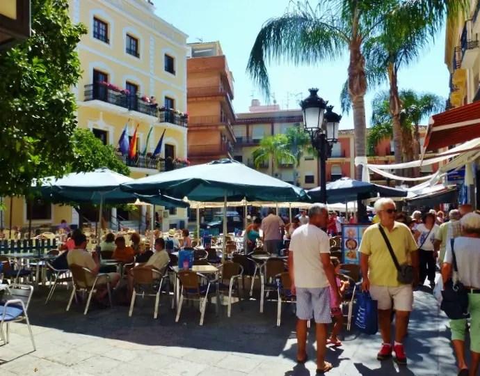 Almuñécar Plazas - Plaza de la Constitución