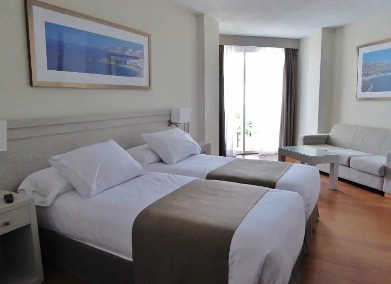 Almunecar Hotel Helios, located on San Cristobal Beach