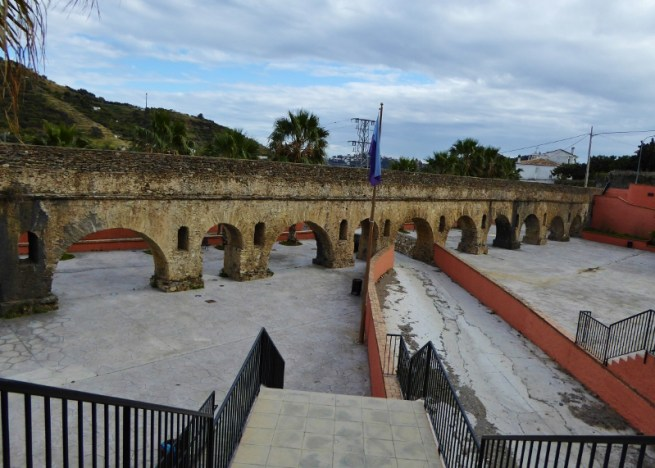 Almunecar Roman Aqueduct Torrecuevas