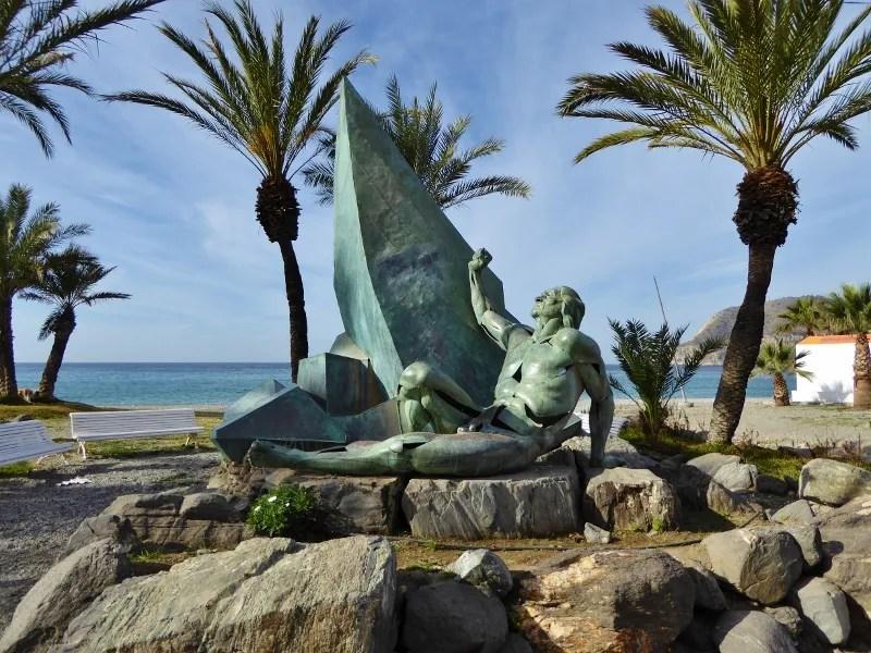 Monument to Shipwrecked Sailors La Herradura Spain