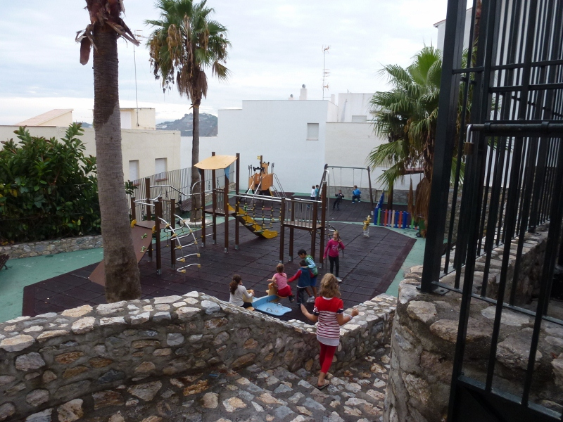 Almunecar Playgrounds and Parks Spain - Barrio San Miguel