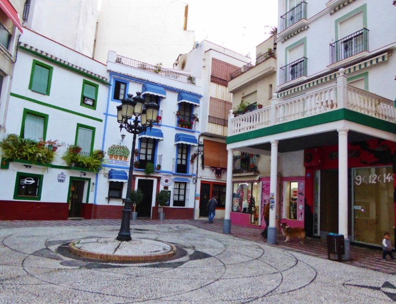 Plaza de la Rosa Almunecar