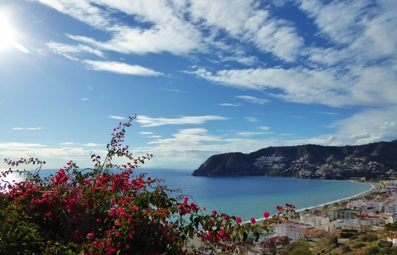 The village of La Herradura Spain for great holiday rentals and apartments