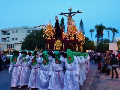 Semana Santa Jueves Santo 2014 Almunecar Spain