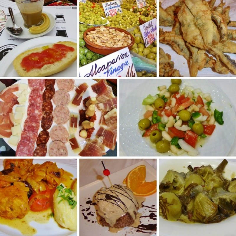 Tasty treats on our Devour Malaga Food Tour