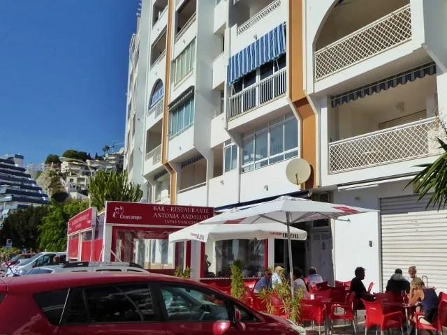 Almunecar Restaurant Antonia's Andalusi