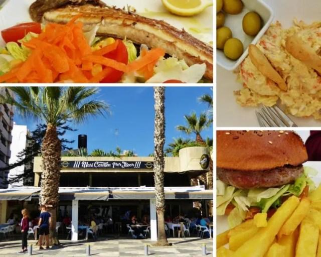 Restaurante Mari Carmen Por Favor collage