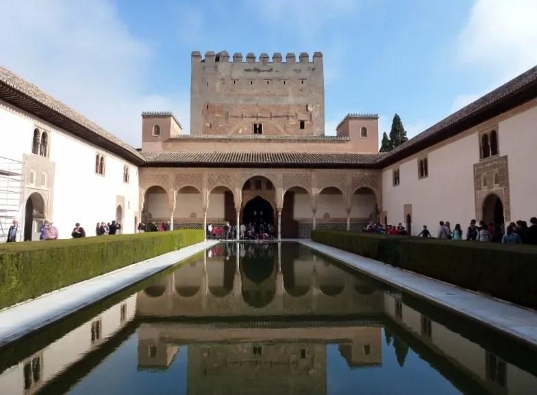 Granada Spain and La Alhambra - Albayzin