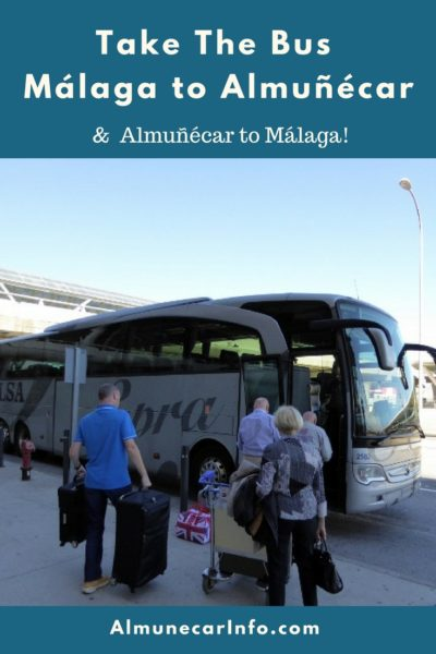 Detailed directions on how to take the airport Alsa bus from Malaga to Almuñécar, and from Almuñécar to the Malaga airport. It is easy to do!  Read more on Almunecarinfo.com