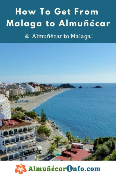How To Get From Malaga To Almuñécar. There are many transportation options for getting from Malaga to Almuñécar. To help facilitate your journey, below you will find a listing along with directions and maps. The travel time can vary based on mode of transportation chosen as well as time or day of the week. The Malaga airport code is AGP, click here for more Malaga Airport Information. We will help you with driving toAlmuñécar, taking the bus toAlmuñécar, and other transportation options. Read more on AlmunecarInfo.com