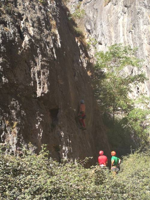 A Day Trip from Almuñécar to Monachil, Los Cahorros Trail This area was known for its limestone climbing cliffs well before it became a popular hiking, picnicking and swimming destination.
