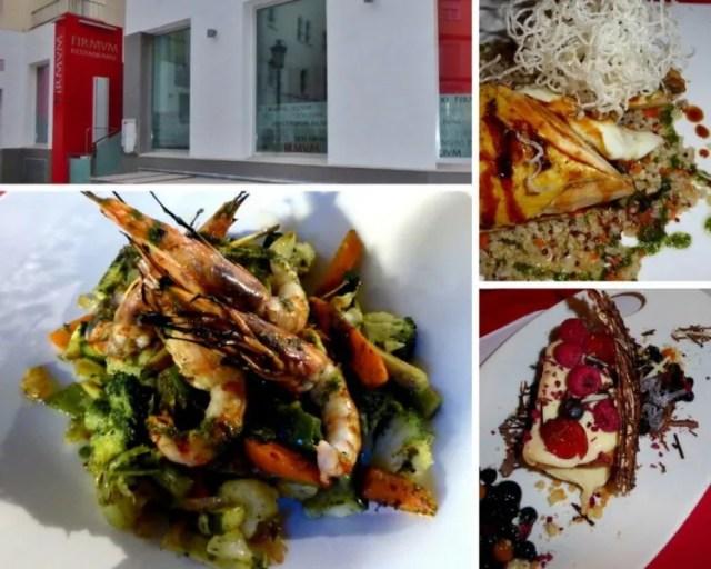 Restaurante FIRMVM Almunecar Fine dining