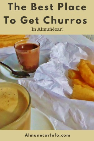 The Best Place To Get Churros In Almuñécar! We share a churros recipe too!