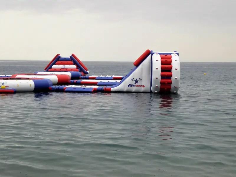 Aqua Arena San Cristobal Beach Almunecar Summer. Read more on Almunecarinfo.com