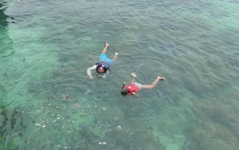 Snorkeling with kids in Almuñécar and La Herradura