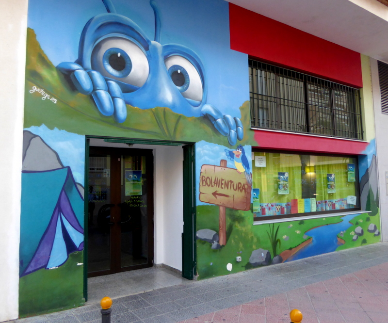 parque infantil Bolaventua play center and children's birthday parties. Read more on Almunecarinfo.com