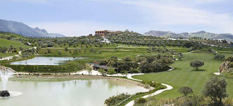 Antequera Golf, Antequera Golf is much more than a beautiful 18 hole golf course located in the centre of Andalucia, at the base of the Natural Park of El Torcal of Antequera (Malaga). It is a demanding golf course, as well as being ecological and surrounded by protected species. It is perfect for experiencing the best golf in privileged surroundings with spectacular views and all the facilities you may need.  Click here for more info. photo from wikimedia commons